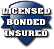 Licensed Bonded Insured